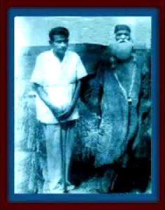 Baba Ubaid Ullah Durrani with Hazrat Baba Tajuddin Nagpori